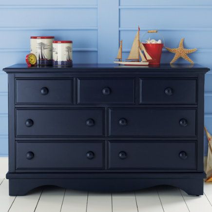 Kids Dressers Painted Dark Blue Walden Dresser Midnight By The Land Of Nod