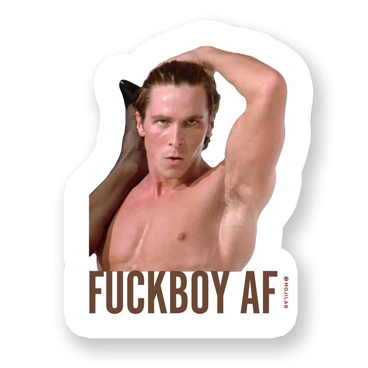 There's one in every group. If you don't have one you are the one. Now in #AF Pack. Send to fuckboys on #chat. #fuckboy #fuck #fuckit #americanpsycho #christianbale #psycho #hiphop #sunday #sundayfunday #pecs #movie #weekend #lol #lolz #comedy #funny #emoji #meme #memes #keyboard #digitalsticker #mojilab