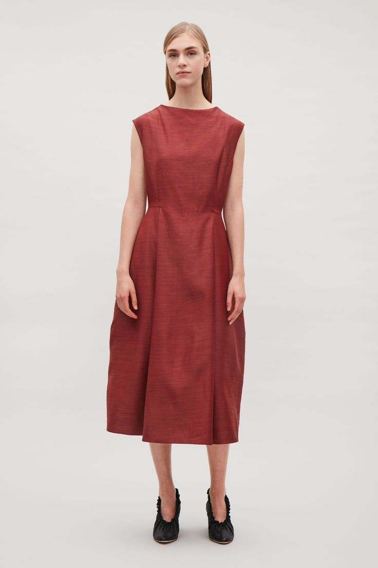 An elegant style this dress is made
