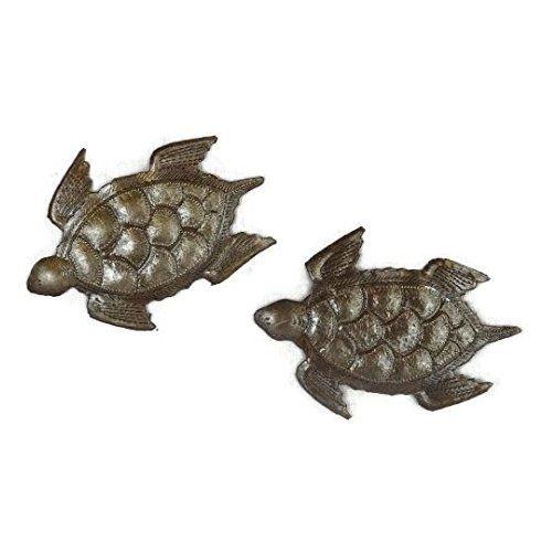 Turtles Swimming, Ocean, Beach, Metal Wall Art, Indoor and Outdoor ...