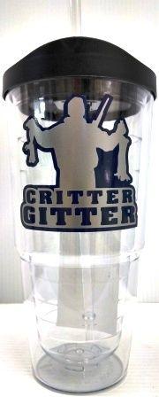 "Jodi's Accessories - ""Critter Gitter"" Double Wall Tumbler with Straw, $12.00 (http://www.jodisaccessories.net/products/critter-gitter-double-wall-tumbler-with-straw.html)"