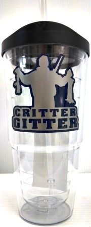 "Jodi's Accessories - ""Critter Gitter"" Double Wall Tumbler with Straw, $12.00 (http://www.jodisaccessories.net/products/critter-gitter-double-wall-tumbler-with-straw.html)"