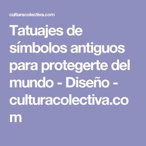 Tatuajes de símbolos antiguos para protegerte del mundo - Diseño - culturacolectiva.com