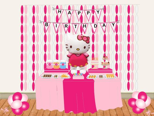 Hello Kitty Party Ideas - by a Professional Party Plannerhello kitty ...