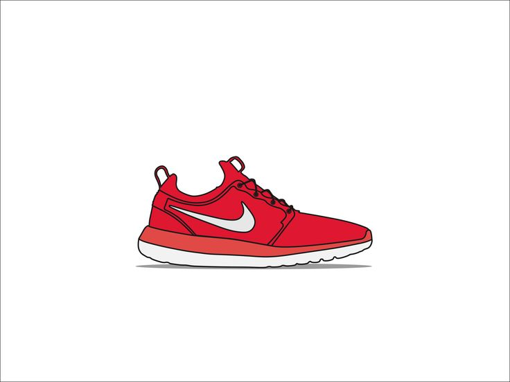 Roshe Run Two Sneakers Vector
