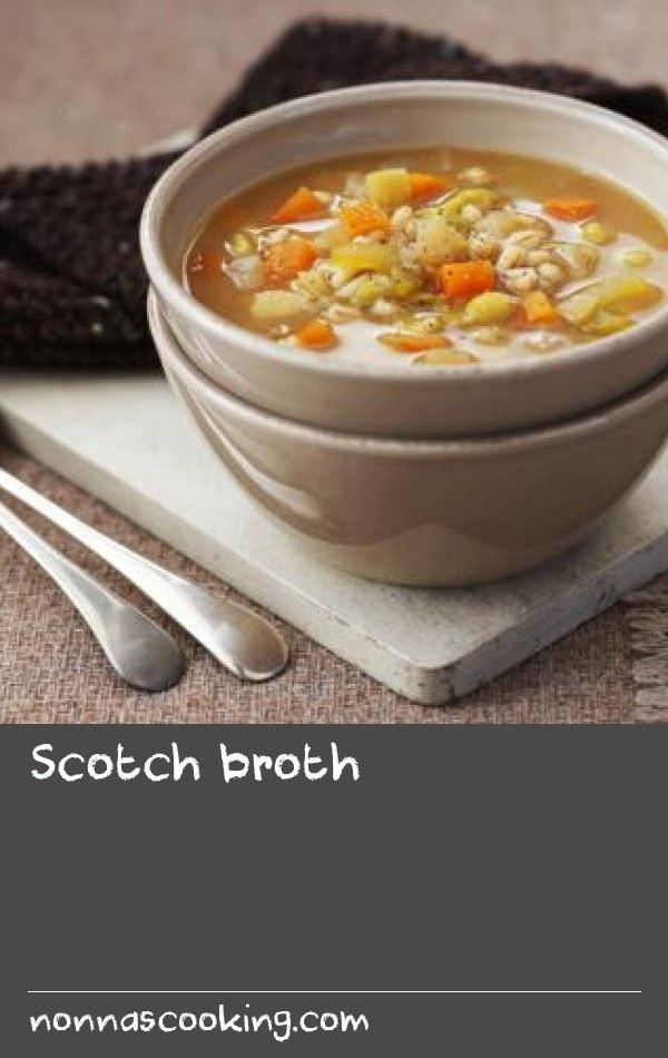 Scotch broth |      This cheap and cheerful soup is perfect for the slow cooker  - simply tip in all the ingredients and cook on high for 6-8 hours (or until the barley is soft).