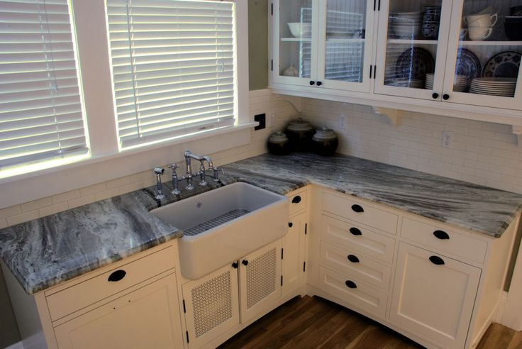 Countertops Fantasy And White Shaker Cabinets On Pinterest