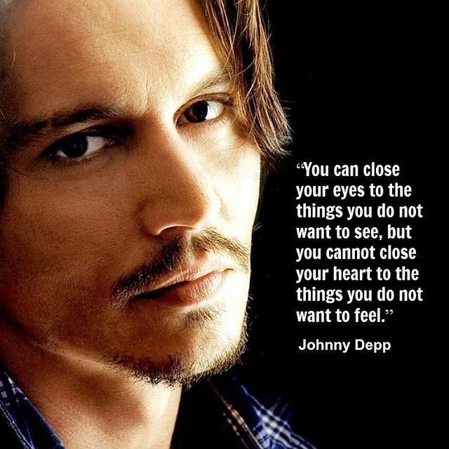 Johnny Depp  - Movie Actor Quote -  film actor quote  #johnnydepp