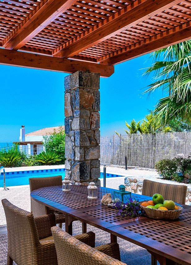 Ocean Luxury Villas in Bali, Rethymno, Crete