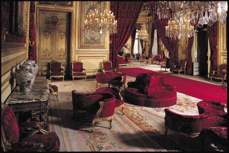 appartements de napol on iii salon th tre et vue sur le. Black Bedroom Furniture Sets. Home Design Ideas