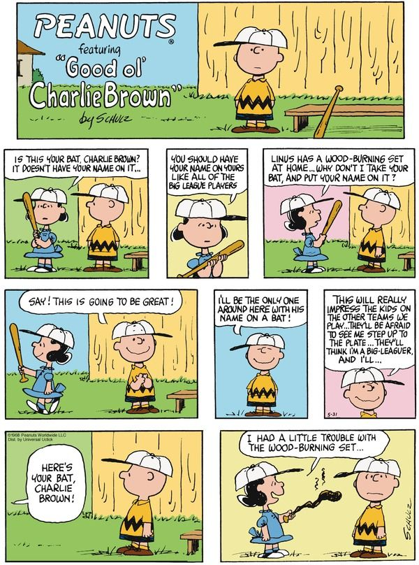 Comic strip peanuts is named after