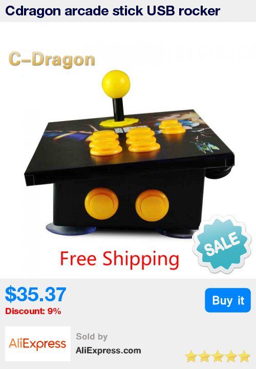 Cdragon arcade stick USB rocker arcade joystick KOF Street Fighter three and PC  computer game handle inclined free shipping * Pub Date: 16:15 Apr 30 2017