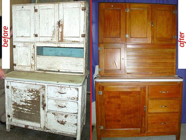 transformation of this hoosier cabinet   trasformazione di questo armadio Hoosier #diy #before