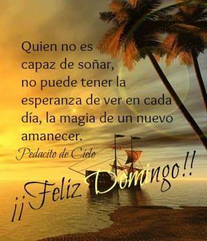 Feliz Domingo!!! Buen Dia!!! ♥ :D