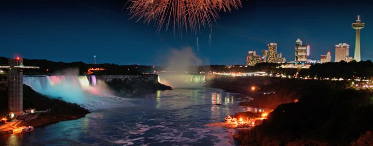 Embassy Suites Niagara Falls: Don't miss the famous Niagara Falls fireworks and lights show.