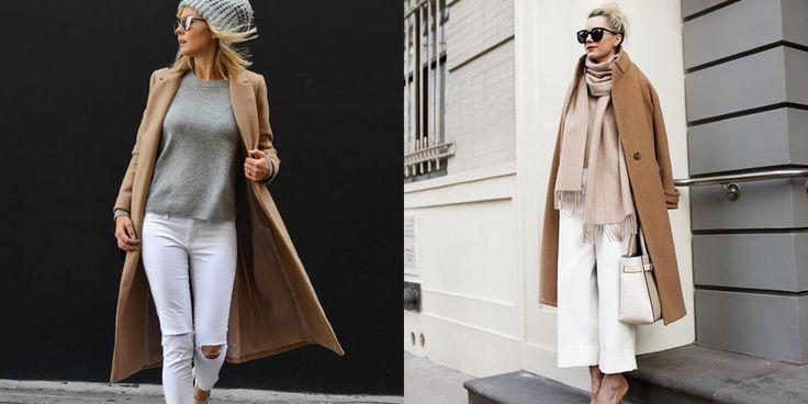 camel jas witte broek