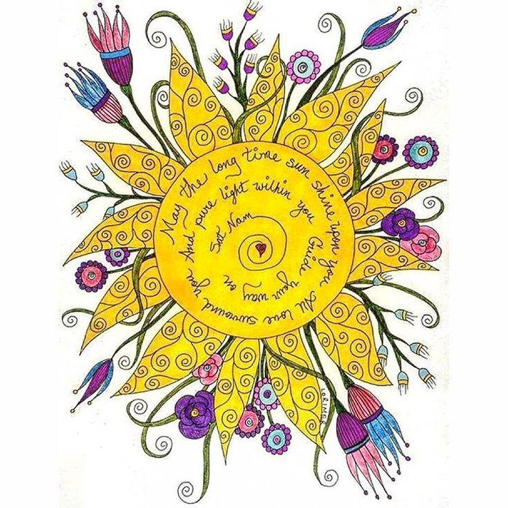 """""""Que el Eterno Sol te ilumine, el Amor te rodee, y la Luz Pura Interior guíe Tu Camino ❤️Sat Nam❤️…"""""""