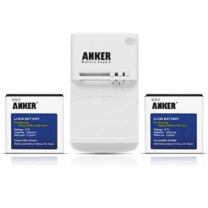 Anker 2 x 1800mAh Li-ion Batteries for Sprint Samsung Galaxy S2 II Epic 4G Touch SPH-D710, U.S. Cellular Galaxy S2 II SCH-R760   Free Anker Multi-purpose USB Travel Charger by Anker. $21.99. Anker batteries are high quality cell phone battery supplements. You will never have to worry about losing battery power too soon or dealing with oversized power solutions. Anker charger is a premium multi-purpose battery charger, a handy companion for your mobile/smart phone…
