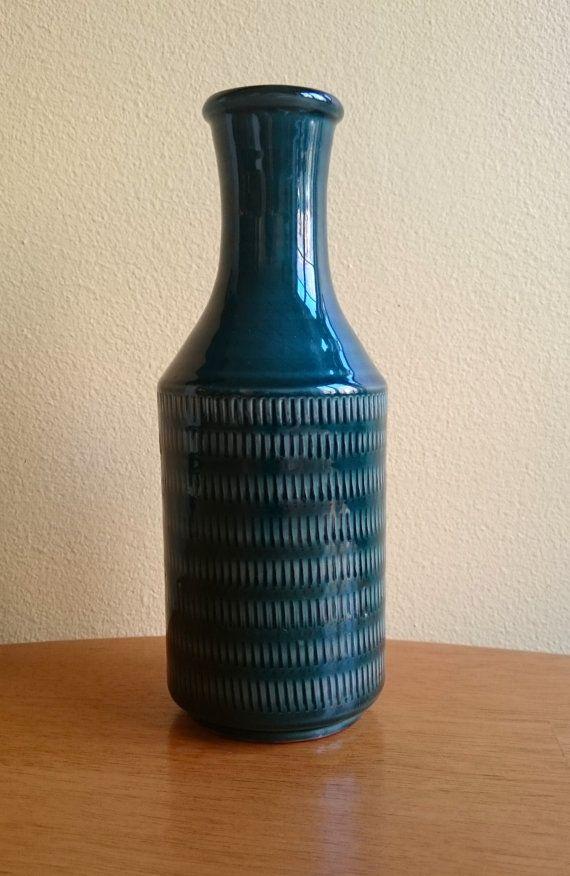 Gabriel Ceramics Sweden Quot Pisa Quot Vase 1950s Scandinavian Art Pottery Mid Century Modern Vintage