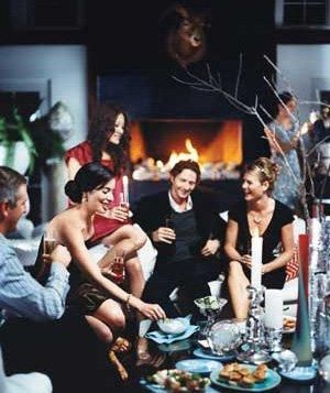 Play Music | Invite a few close friends to ring in the New Year with an easy, intimate party at home.