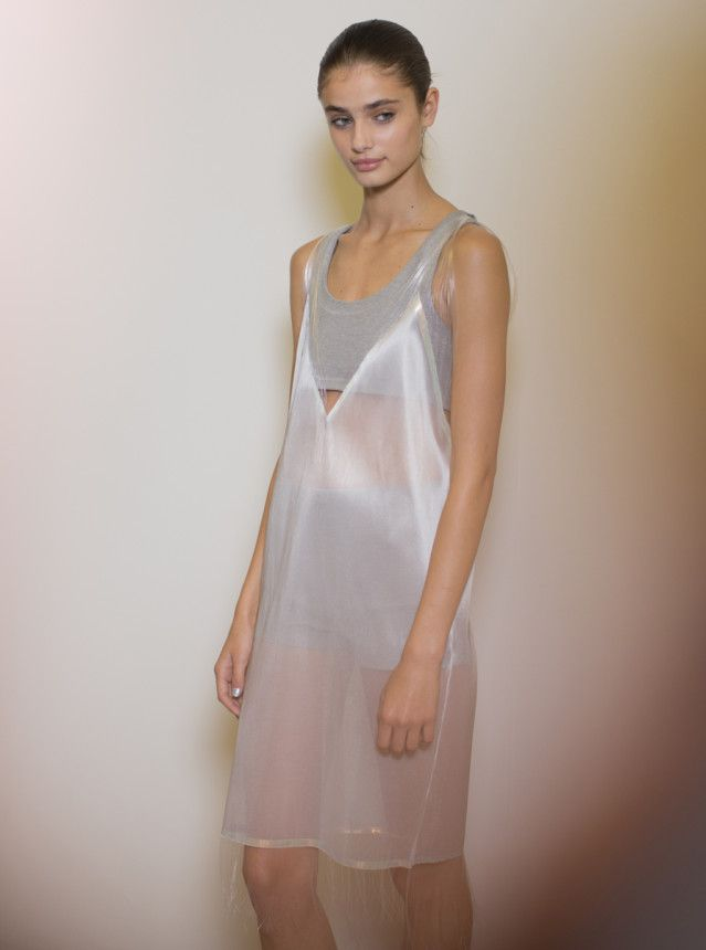 Richard Nicoll RTW Spring 2015 backstage. Photo by Kevin Tachman.