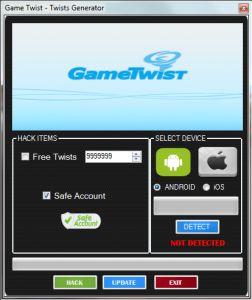 Game Twist Twists Generator v1.0 252x300 GameTwist Triche Code Générateur Gratuit
