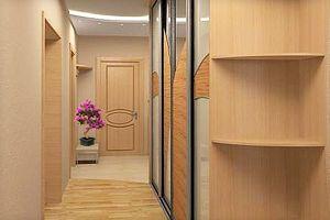 Прихожие для узких коридоров — идеи для ремонта с фото