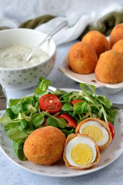 Rántott tojás fűszeres mártással ~~ Kifőztük.hu