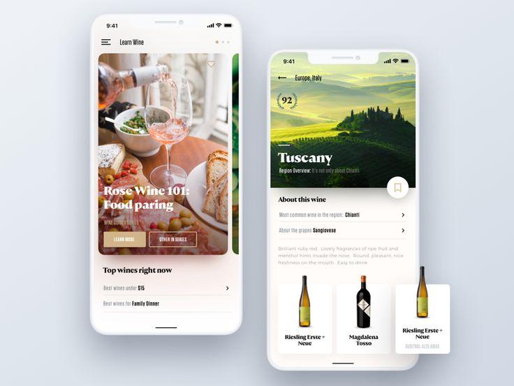 Wine Searcher: Overview by Tom Koszyk - Dribbble