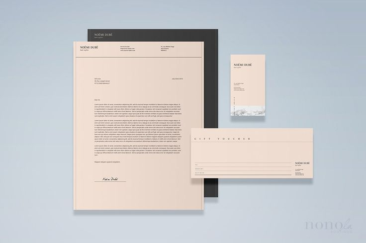 Stationery Set Editorial & Fashion It's perfect for creative or fashion brands who aim to re-fresh their brand presence and convey delicate professionalism. Clean layout, featuring editorial typography and nude color palette reflect the latest in design trends.