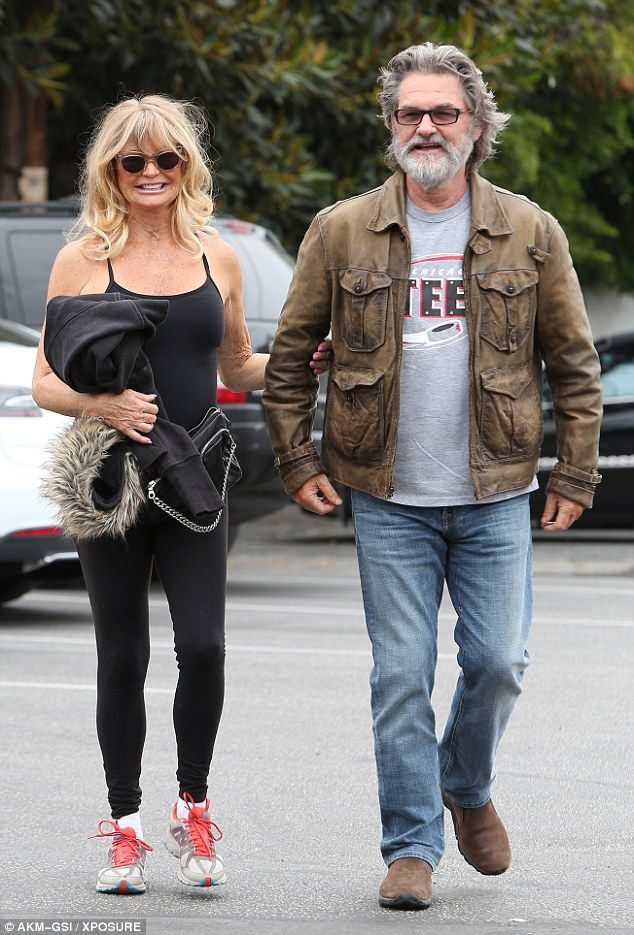 Still smitten! Goldie Hawn and her long-time love Kurt Russell once again upheld the notion that love really is timeless as they put on a doting display while heading out for dinner together on Thursday