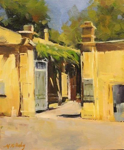 """Van Goghs Asylum"" - Original Fine Art for Sale - © Maureen Killaby"