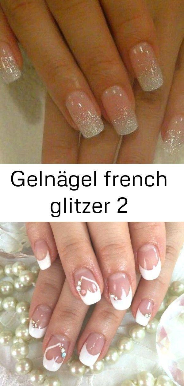 Gel Nails In 2020 Gelnagel Weihnachten Nagel Hochzeit Braut Nagel