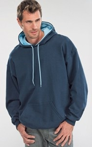 Two Tone Hoodie - Made in Canada Eh!
