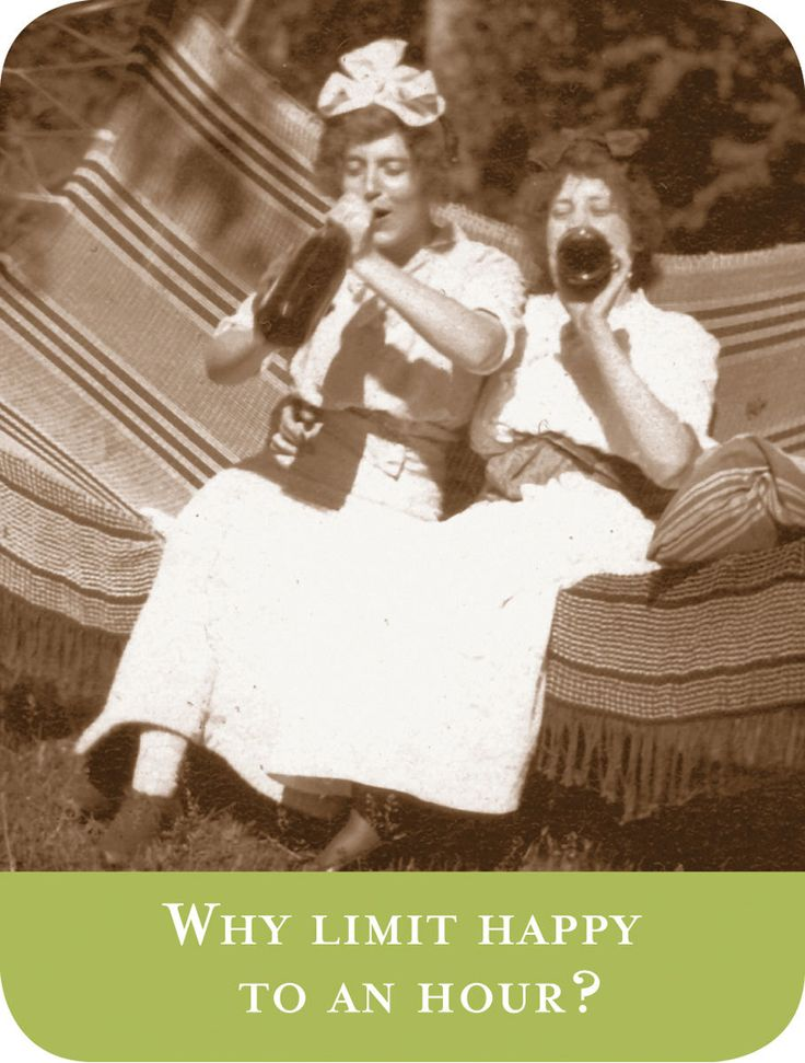 Why Limit Happy to an Hour? #wine