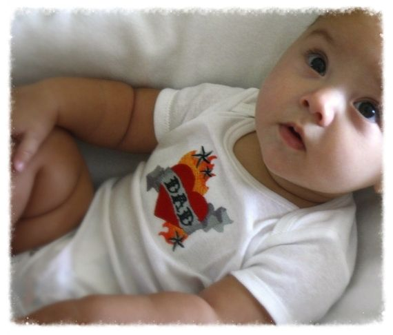 24 best images about coolest onesies ever on pinterest for Baby tattoos for dads