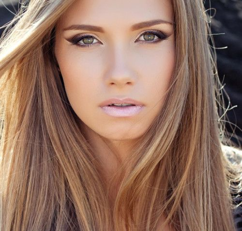 Sandy Brown Hair Color: it is a natural beige shade which is in trend as well. This shade is recommended for females with light skin tone and blue or hazel eyes. Sandy brown shade can be upgraded with beige blonde hair highlights.