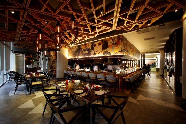 Beautiful Innovatives Decken Design Restaurant Gallery - Rellik.us ...