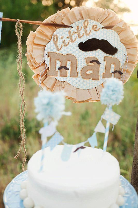 Little man baby shower with tons of cute ideas! Via Kara's Party Ideas KarasPartyIdeas.com