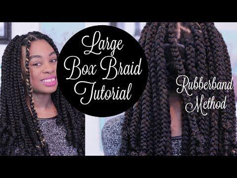 Enjoyable 17 Meilleures Idees A Propos De Box Braids Tutorial Sur Pinterest Hairstyles For Women Draintrainus