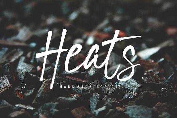 Heats by Typewolves on @creativemarket