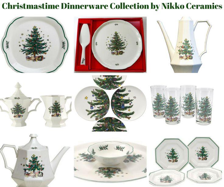 Christmastime Dinnerware Collection by Nikko Ceramics  sc 1 st  Pinterest & 135 best Nikko Christmastime images on Pinterest | Nikko Dish and ...