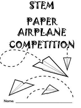 Use the basic STEM principles when designing your own paper airplane.  You could add to this activity by researching the four factors of flight and tried and true paper airplane designs before you begin.  Then, have a class competition!   I put my students in groups of 2-3.