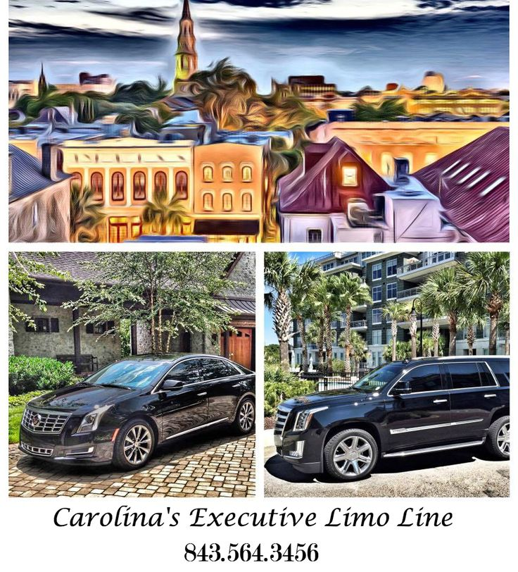 Black Car Service in Charleston, South Carolina in one of our executive Cadillac cars is available 24/7. Call Carolina's Executive Limo Line today to reserve your ride. 843.564.3456 http://www.celimoline.com/charleston-sc-black-car-service