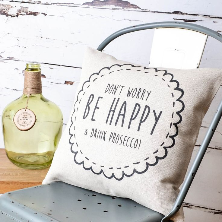 Don't Worry, Be Happy, Drink Prosecco – rules to live by! Order now to catch our special offer 15% off before the 15th. #prosecco #birthday #dontworry