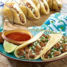 Our Carne Asada Tacos are marinated in a flavorful bath of citrus and GOYA® Mojo Criollo. The steak becomes tender and highly seasoned before being cooked to perfection. Delish!
