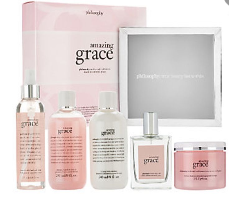 Philosophy 5 Pc Fragrance Grace Gift Set And Tray