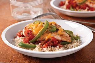 Salsa cheddar chicken: Brown Rice, Chunky Salsa, Kraft Recipes, Boneless Skinless Chicken, Salsa Cheddar Chicken, Weights Watchers, Salsa Chicken, Healthy Chicken Recipes, Chicken Rice