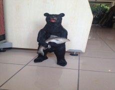 Alaska Bear Statue