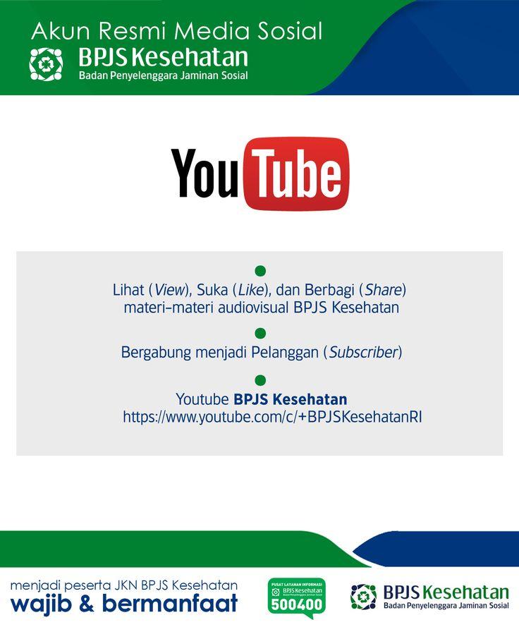 Media Sosial BPJS Kesehatan, YouTube
